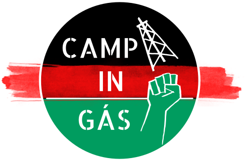 Vídeo: Ação desobediência civil Camp-in-Gás