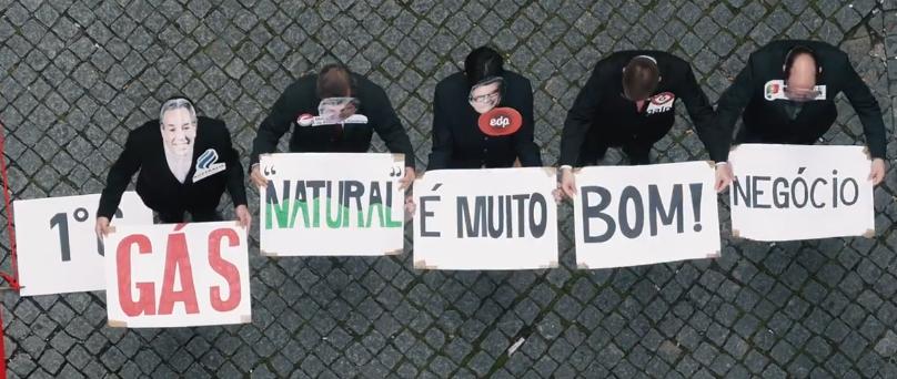 """Vídeo – Ação de lançamento da campanha """"Gás é Andar para Trás"""""""