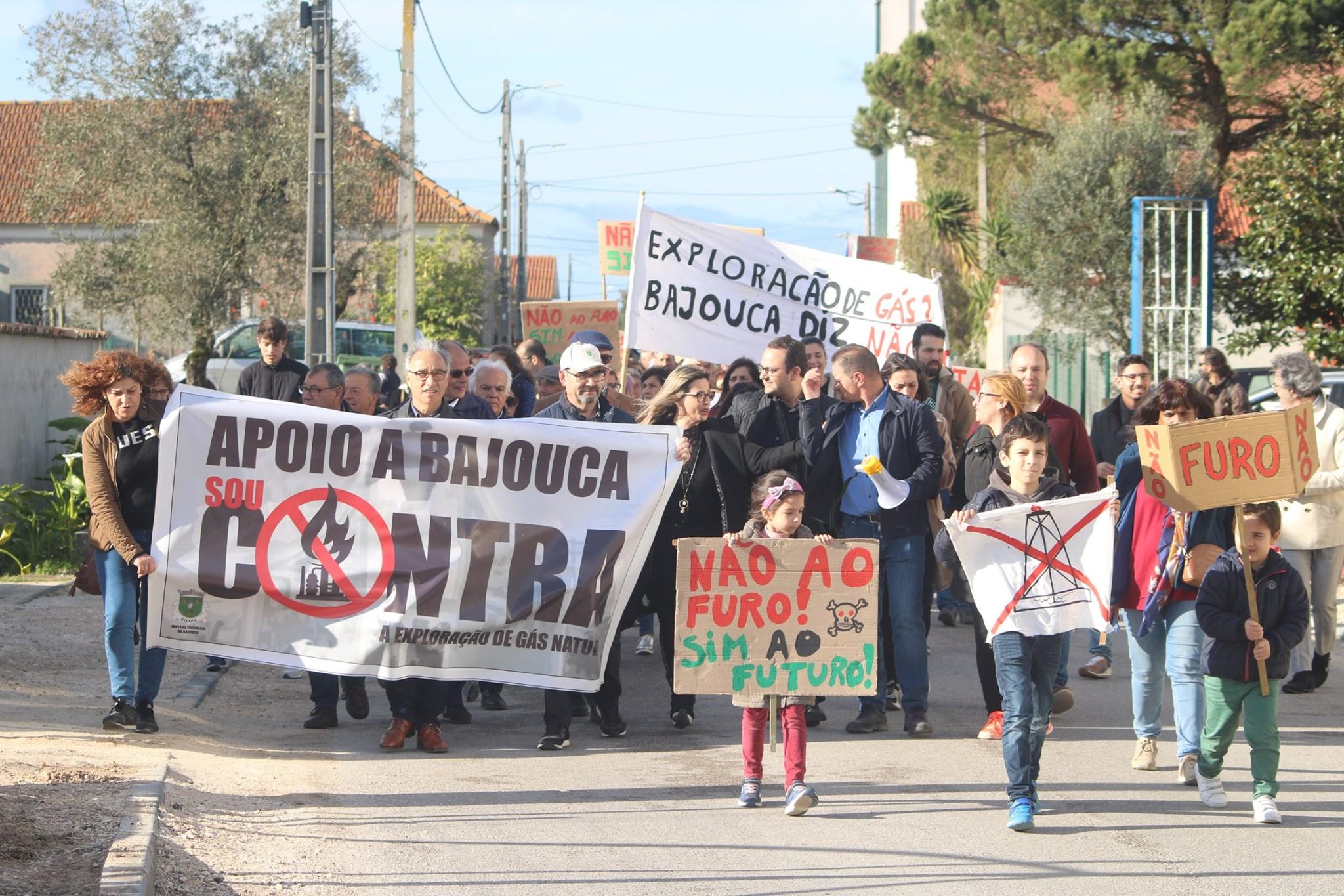 População da Bajouca Diz Não à Prospecção de Gás