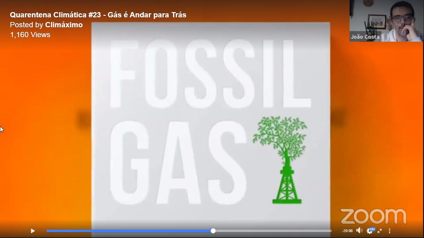 """Conversa: Gás é Andar para Trás na """"Quarentena Climática"""""""